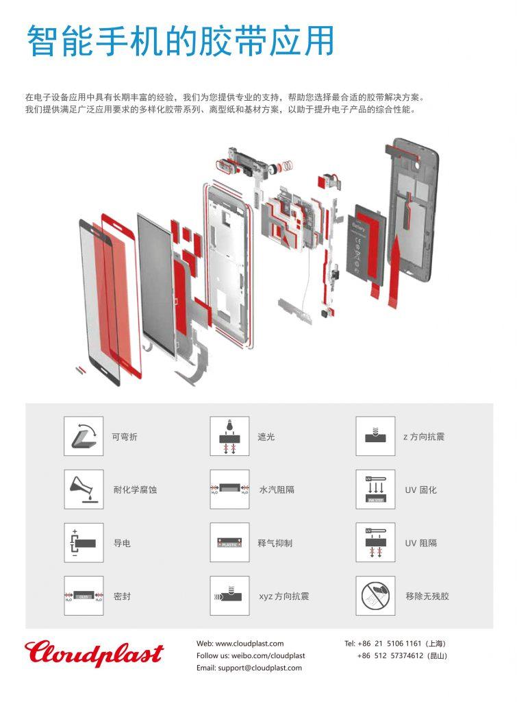 电子行业的胶带及标签模切应用解决方案_昆山分公司模切事业部